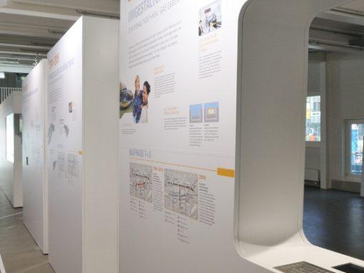 Ausstellung U-Bahn Neubau | Infopavillon | Kasig Karlsruhe