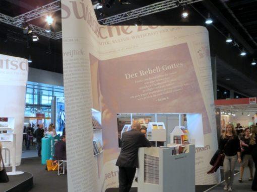 Süddeutsche Zeitung | Buchmesse | Frankfurt | Entwurf von POINT. Architektur