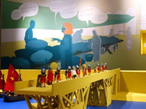 Kinderaussstellung im Stadtmuseum Wiesbaden | Ausstellungsarchitektur