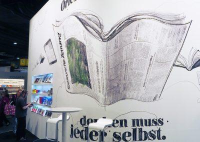 Süddeutsche Zeitung | POINT.Architekten | Buchmesse Ffm 2013