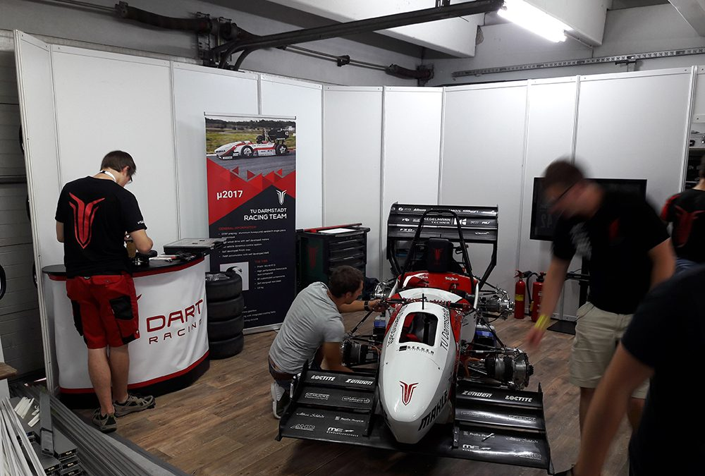 TU Darmstadt Dart Racing Team | Hockenheimring 2018
