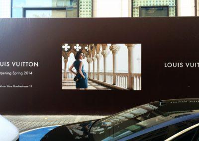 Louis Vuitton | Storefront | Frankfurt 2014