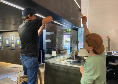 Schutzverglasung Hygiene-Schutz Museum Empfang/Information